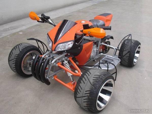 Квадроциклы шоссейные своими руками